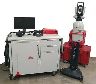 Leica AT901-LR Laser Tracker + T-Cam + T-Probe CMM + T-Scan 3D Scanner - Inc VAT • 35,000£