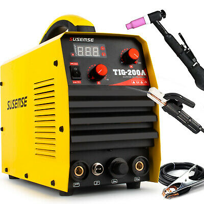 200amp Igbt Hf Ignition Tig/mma Dc Inverter Welder 2 In 1 Machine Duty Cycle 60% • 145£