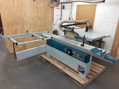 Paoloni Sliding Table Panel Saw Dimension Not Wadkin SCM Robland 3 Ph Dc Braked  • 3,450£