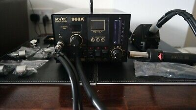 Aoyue 968 A+ Soldering Station • 125£