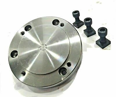 100 Mm Back Plate With MT2 Spigot For HV4/ HV6 Rotary Table • 29.99£