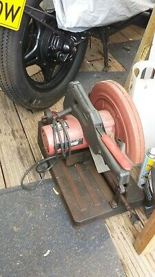 Metal Cutting Chop Saw  Garage Clearance Collection Only Benfleet • 55£