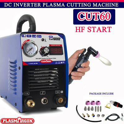 IGBT PLASMA CUTTER INVERTER HF 60 AMP 1-16mm THICKNESS 60AMP WITH CONSUMABLES • 189£