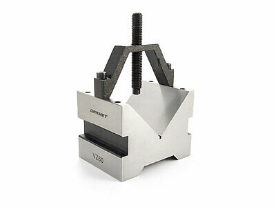 V-Block With Stirrup Clamp 65MM VZ60B Wokholding Clamping Tool • 49.49£