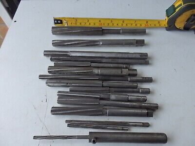 Joblot / Collection Of Parallel / Straight  Shank Reamers,  • 15£