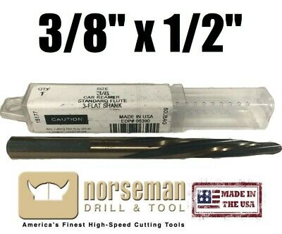 #06390 Norseman/Viking USA Car Reamer 3/8  X 1/2  Shank USA Made HIGH QUALITY • 26.60£