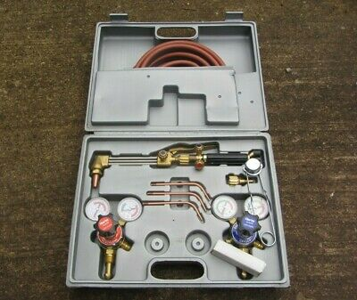 Clarke CGW1 Gas Welding Brazing Cutting Kit Bought New In 2003 But Never Used. • 195£