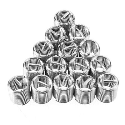 Akozon Threaded Inserts 50pcs M10 Stainless Steel SS304 Coiled Wire Helical S... • 22.38£