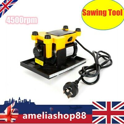 4500rpm Portable Mini Table Saw Cutting  Sawing Tool Bench Cutter W/2 Saw Blades • 42£