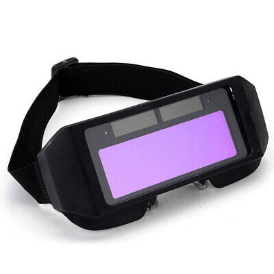 Auto Darkening LCD Welding Goggle Solar Glasses Lens  Eye Protection W/ Headband • 7.79£
