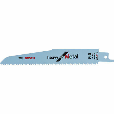 Bosch S920CF Metal Cutting Reciprocating Saw Blades Pack Of 5 • 31.95£