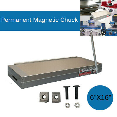 16'' X6'' Powerful Permanent Magnetic Chuck Magnet Table For Grinding Machine UK • 119.55£