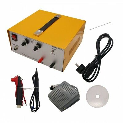 80A DX-808 Pulse Sparkle Spot Welder Gold Silver Jewelry Machine Tool 220V • 199.99£