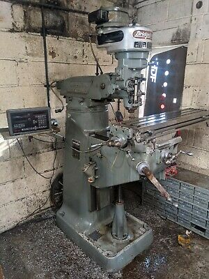 Bridgeport Milling Machine Excellent Condition With Dro, Tooling, Vice. • 3,000£