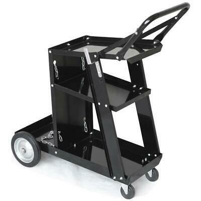 New 3 Tier Trolley Professional Welding Cart Plasma Cutter Welder Without Drawer • 40.99£