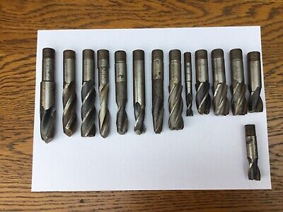 Milling Tools Job Lot (14 Pieces, 1.7 Kg Weight) • 10.99£