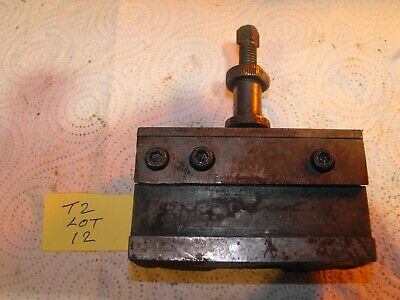 Dickson,Colchester, T2 Toolholder Lot 12 (Engineering,Lathes Milling,Workshop) • 65£