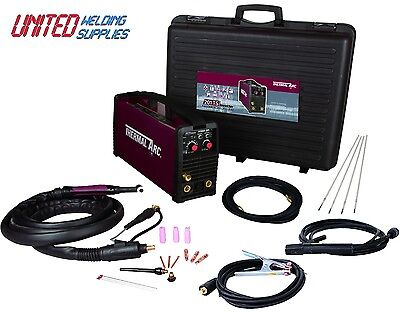 Thermal Arc 201TS 200amp(110/230V) Dual Voltage Inverter Tig Welding Package  • 855£