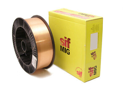 Mig Welding Wire - Mild Steel - 0.8mm 15KG A18 - SIF High Quality • 39£