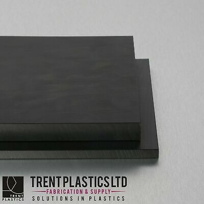 HDPE Sheet Black - High Density Polyethylene PEHD Thermoplastic Polythene Mm • 56.17£