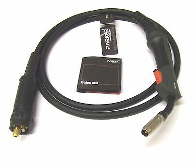 Mig Welding Torch Euro Connector Mb15 - 3 And 4 Metres • 44.50£