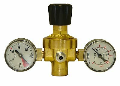 Twin Gauge Regulator For Use With Disposable Argon, Argon Co2 And Co2 Cylinders • 40£