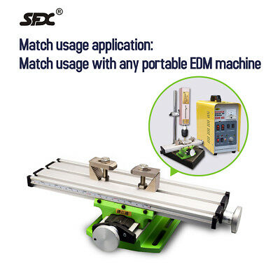 Mini Multi-function Working Table Milling Machine Worktable Fits Portable EDM  • 59£