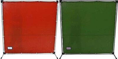 Welding Screen Curtain Flame Retardant & Frame Fiberglass Or Aluminium • 75£