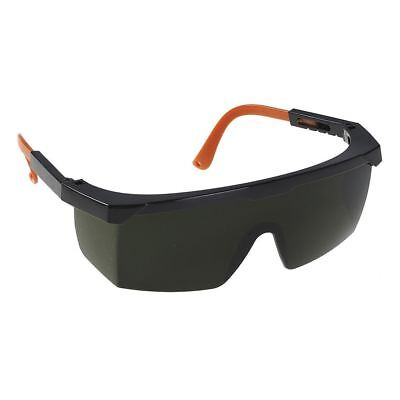 Portwest Welders Welding Safe Eye Screen Spectacles Glasses Goggles Shade 5 PW68 • 10.21£