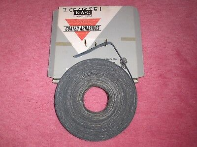 E.A.C. Emery Abrasive Cloth Coil Blue Best - Grit 100 25mm X 50 Metres Code 101  • 13.50£