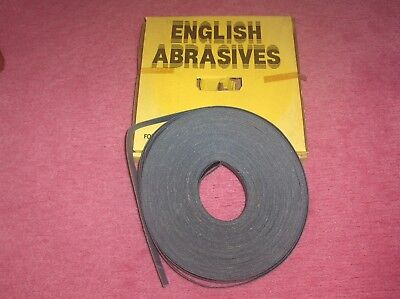 E.A.C. Emery Abrasive Cloth Coil Blue Best - Grit 60 25mm X 50 Metres Code 101  • 10.90£