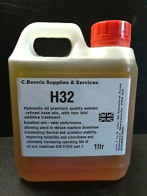 Nuto H32 Oil For Lathes -  Oil With Freepost Choice Of Sizes Ml7 Super 7 • 7.99£