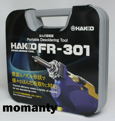 HAKKO FR301-82 100V Desoldering Tool With Case • 169.50£