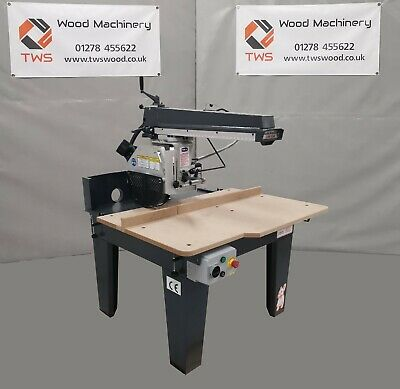 New Techline RAS 350 Radial Arm Cross Cut Saw *£2,900 + Vat* • 3,480£