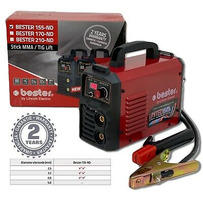 Lincoln Bester 170-ND MMA Inverter Arc Welder Package - 230v, 1ph • 190£