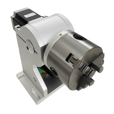 Rotary Axis Rotary Chuck Rotating Shaft With Driver For Fiber Laser Marking • 239£