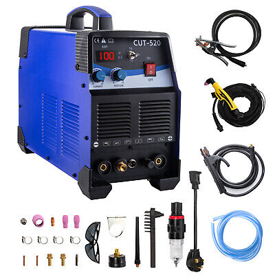 3 In 1 TIG Welder Plasma Cutter CT520D Combo TIG MMA ARC Welder Welding Machine • 258.98£