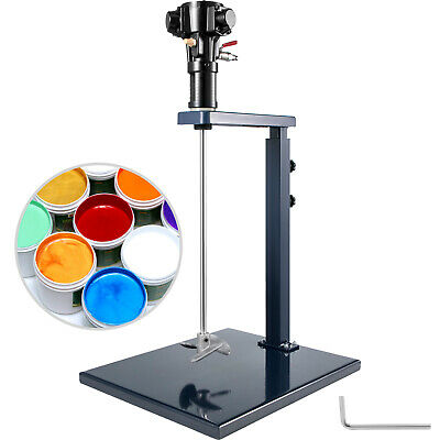 Pneumatic Mixer Manual Paint Mixer 5 Gallon 20L W/ Stand Ink Paint Mixer Stirrer • 82.99£