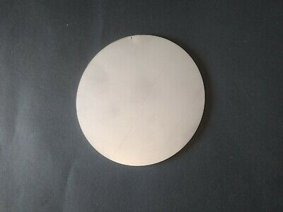 STAINLESS STEEL Blank Round DISCS 304 Grade Sheet Metal Precision Laser Cut • 2.50£