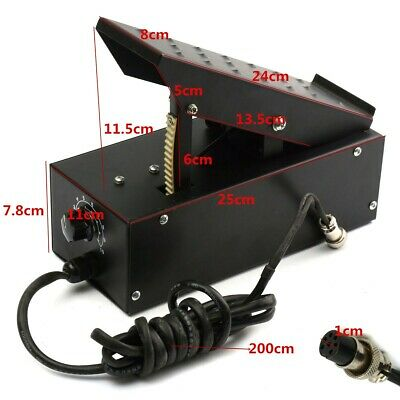 TIG Welder Foot Pedal 5/7 Pin For TIG Welding Machines Power Control / Equipment • 52.60£
