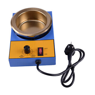 150//250//350W Electric Portable Lead Melting Pot Solder Furnace Casting Heads Fw