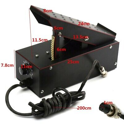Foot Pedal 7 Pin For TIG Welder Welding Machines Power Control / Equipment Plug • 58.90£