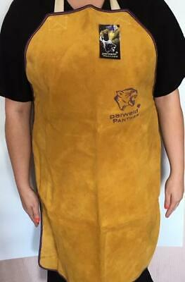 Panther Leather Apron Premium Quality - Welders, Blacksmith, Metal Workers • 16.95£
