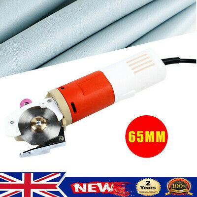 Electric Cloth Cutter Fabric Textile Leather Cutting Machine Scissors 65mm Blade • 45.50£