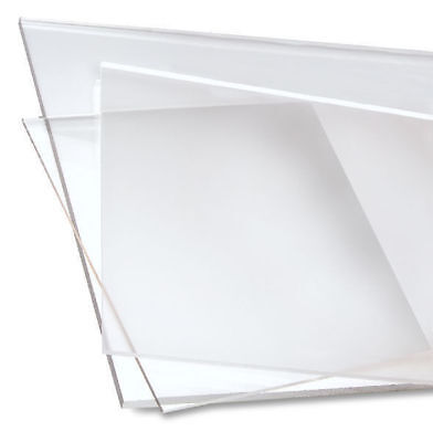 PETG Sheet Clear Plastic Vacuum Forming Panels Face Shield Material FDA • 11.87£