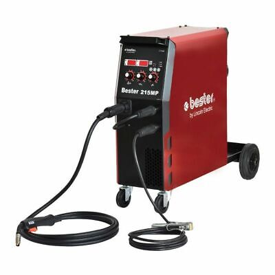Lincoln Bester 215MP Multi Process MIG Welder Package 230v, With 2 Year Warranty • 714£