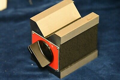 New Starrett Dual-Vee Magnetic V-Block 566 EDP 63323 • 250£