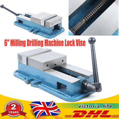 6'' Milling Drilling Machine Lock Vise Bench Clamp Vise Vice Table Precision • 90.99£