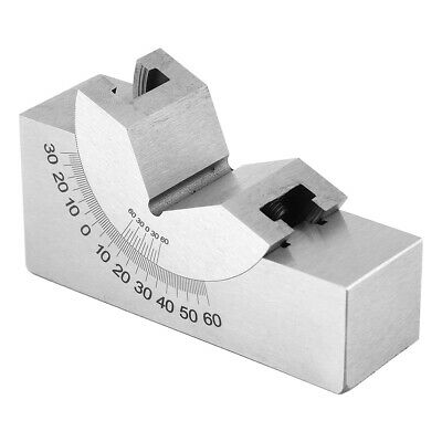 Accusize Protractor Angle V Block Angle Gauge For Milling Machine For Planer • 20.90£