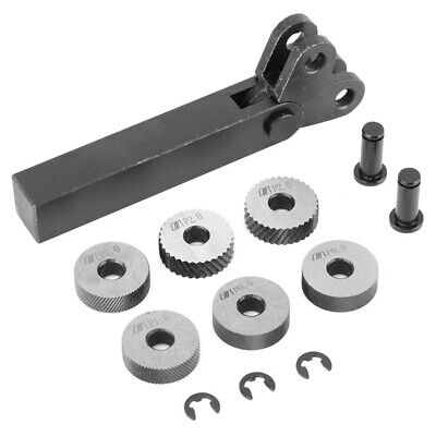 Replace Knurled Tools 7 Lathe Tool Accessories Damaged Linear Knurled Wheels • 19.09£